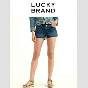 Lucky Brand  Hand Crafted Cut Off Shorts